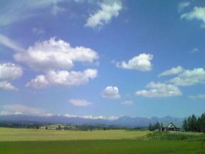 2515遠くに見える大雪山連峰