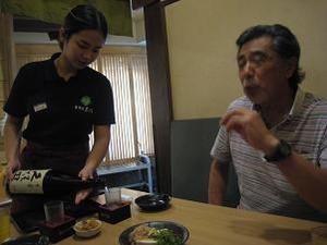 やっぱり蕎麦には日本酒でしょ