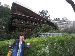 木造の図書館