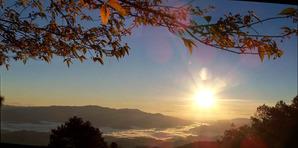 2149「山岳部の朝日」