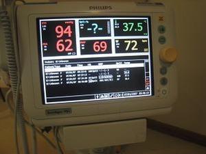4時間毎に検温や心拍数