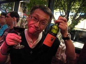 ワインを満喫