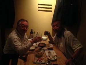 W氏と2人の晩餐会