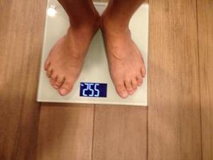 ヤバ!体重が55,2キロだ