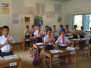 2555H教室の子供たち