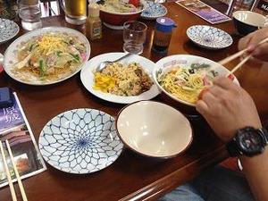 長崎チャンポンに皿うどんに焼き飯