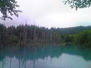 2179「青い池横」