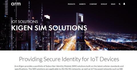 Kigen SIM Solutions – Arm