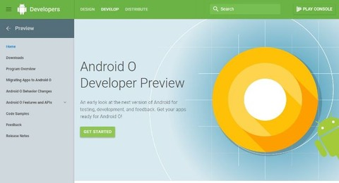 Android O Developer Preview_