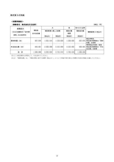 補助事業逐次状況報告書_日立技研_-003