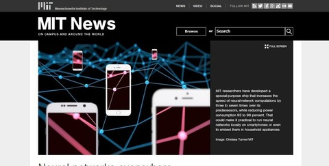 Neural networks everywhere   MIT News