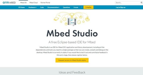Mbed Studio   Mbed