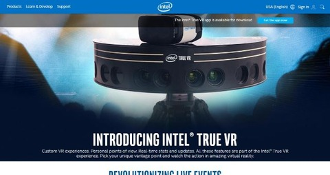 Intel True VR Technology_