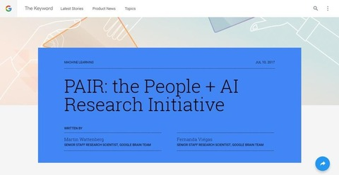 PAIR  the People   AI Research Initiative