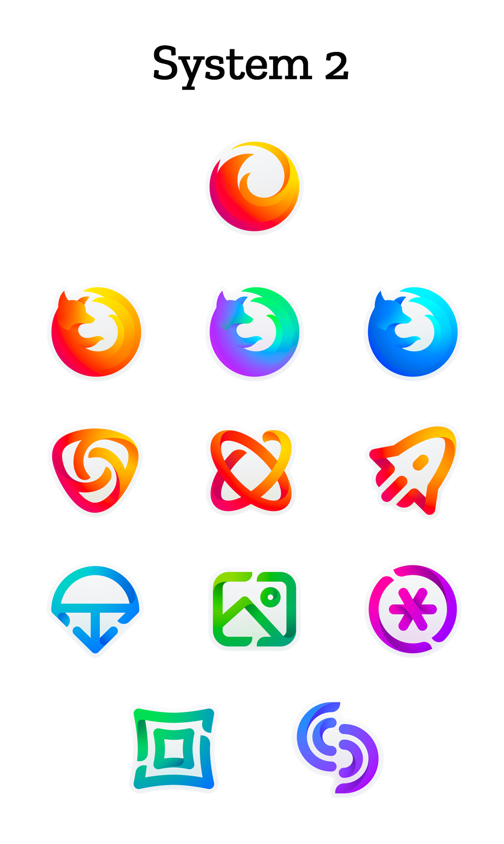 mozilla、firefoxシリーズのロゴを刷新する計画を発表 : 0を1にする