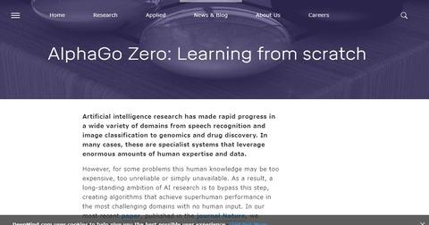 AlphaGo Zero  Learning from scratch   DeepMind