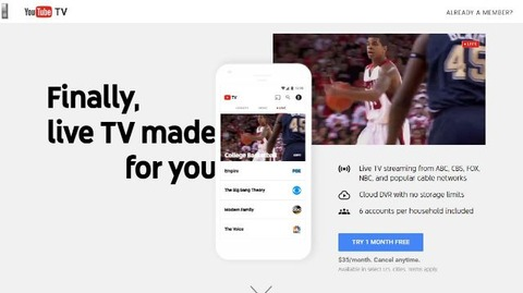 YouTube TV_