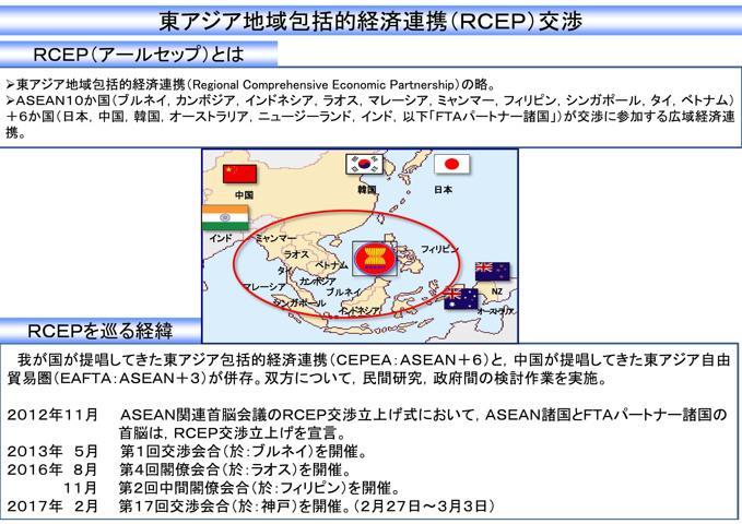 東アジア地域包括的経済連携(RCEP)の事務レベル交渉会合、27日から神戸 ...