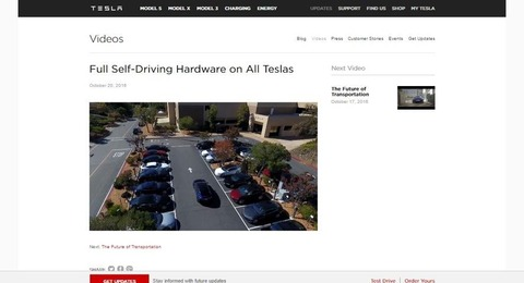 Full Self Driving Hardware on All Teslas   Tesla