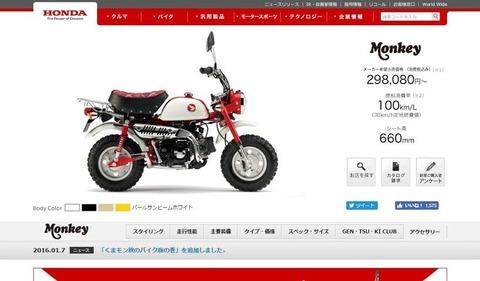 Monkey   Honda