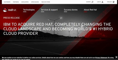 IBM TO ACQUIRE RED HAT-s