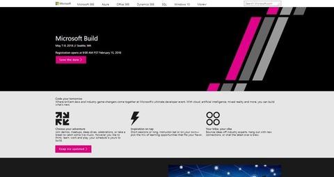 Microsoft Build 2018 Developer Conference
