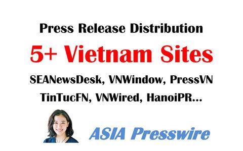 Southeast Asia PR Distribution in Vietnam via AsiaPresswire's Service
