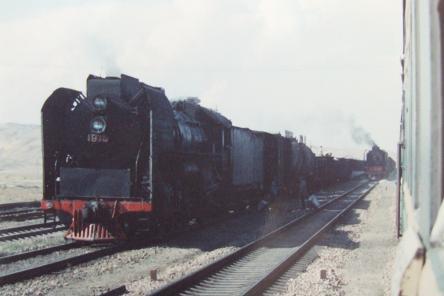 1991年 特快44次、内モンゴル経由の旅 蘭州→北京 7 : 亜洲鉄道日記