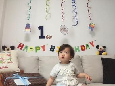 7  一才誕生日