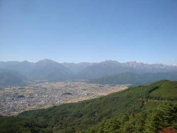 鷹狩山 展望台からの眺め