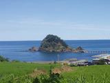 由良白山島