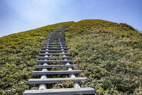 天に向かう階段