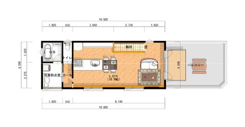 アスキーハウス様 2階 平面図