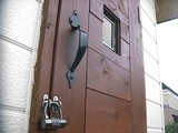 DIY物置のドア
