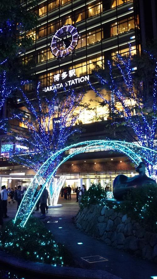 博多駅イルミ1