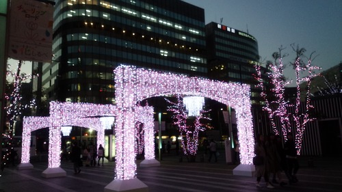 桜イルミ3
