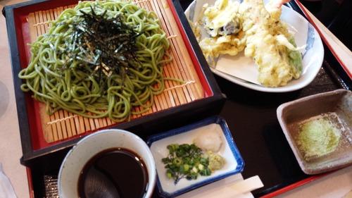 広川IC(茶そば)