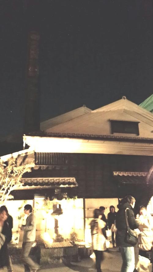 百年蔵レンガの煙突