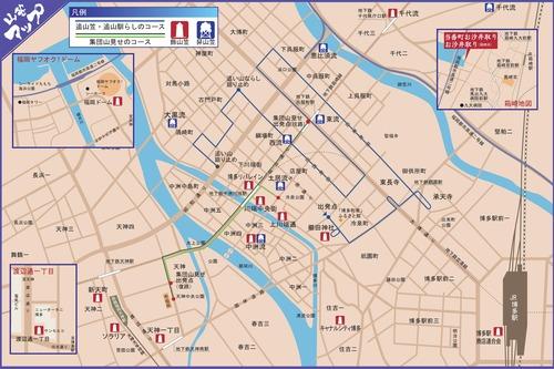 山笠マップ