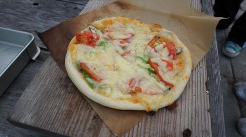 季の野のピザ