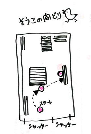 倉庫の図面