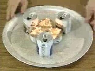 あき缶コンロ4