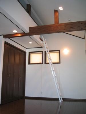 屋根裏部屋 ロフト
