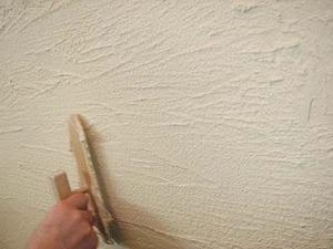 珪藻土を壁にぬる