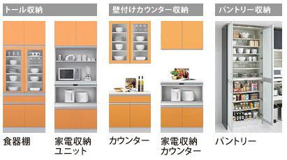 収納 キッチン