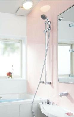 ピンクのお風呂