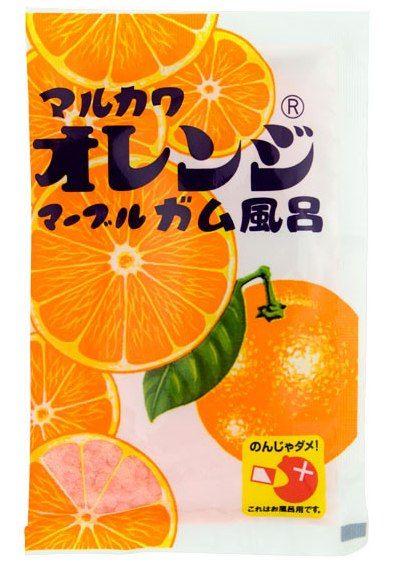 オレンジガム風呂