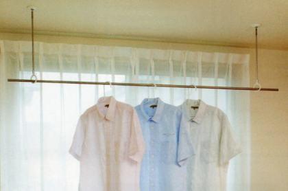 ホスクリン 洗濯物 梅雨  花粉