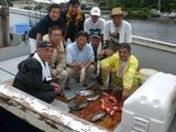 魚釣り全員