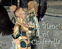 Le blanc of Cinderella
